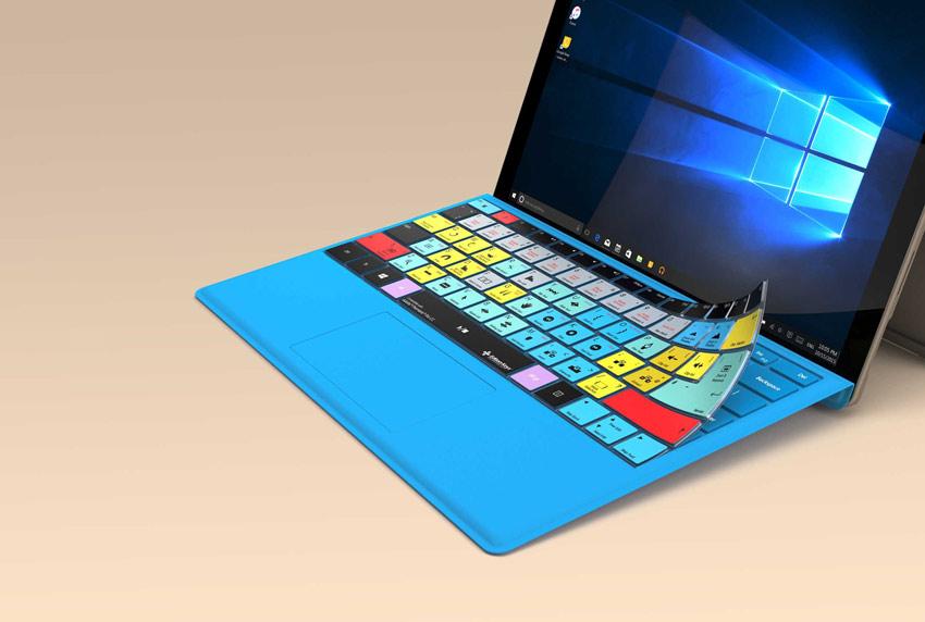 Editors Keys Microsoft Surface Keyboard Overlay
