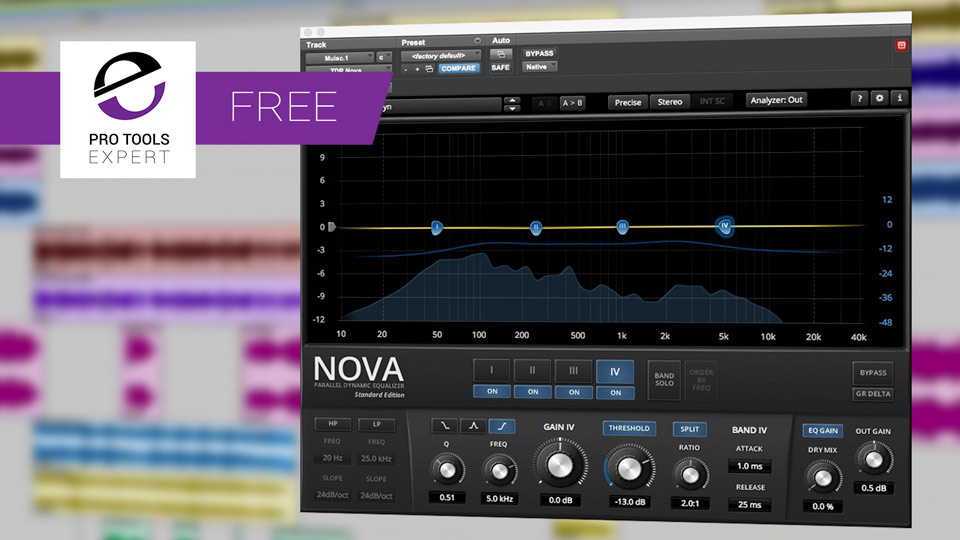 Friday Free Plug-in - Tokyo Dawn Records Nova Dynamic Equaliser