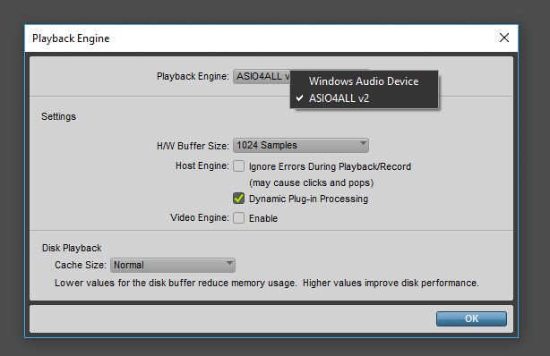 Pro Tools Playback Engine