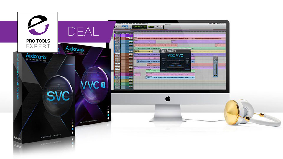 Avid Offer Pro Tools Users The Opportunity To Save 40% On Vocal & Speech Tools From Audionamix