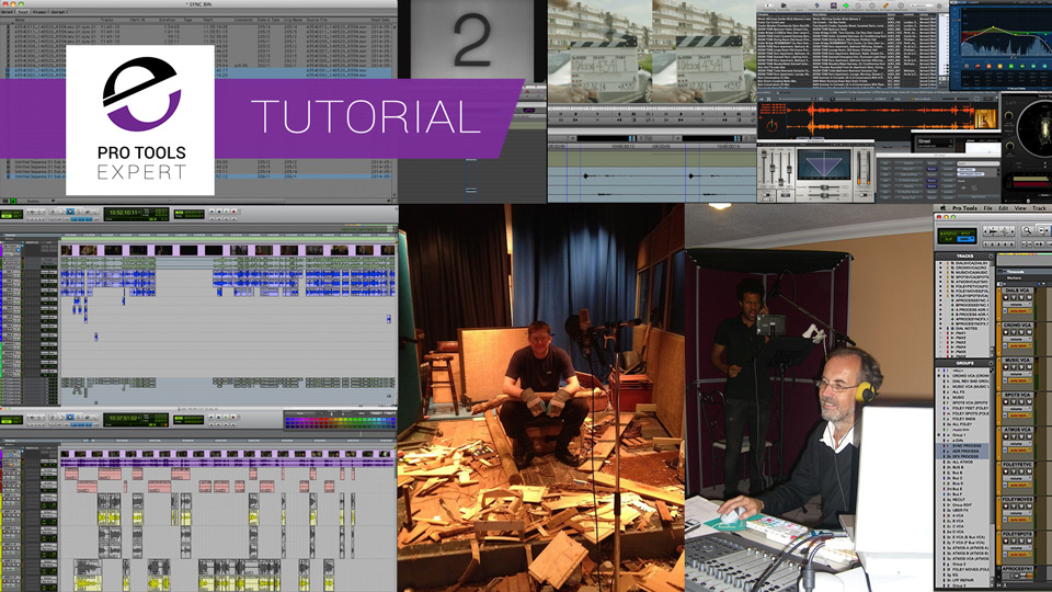 Audio Post Production Workflows Using Pro Tools - Part 6