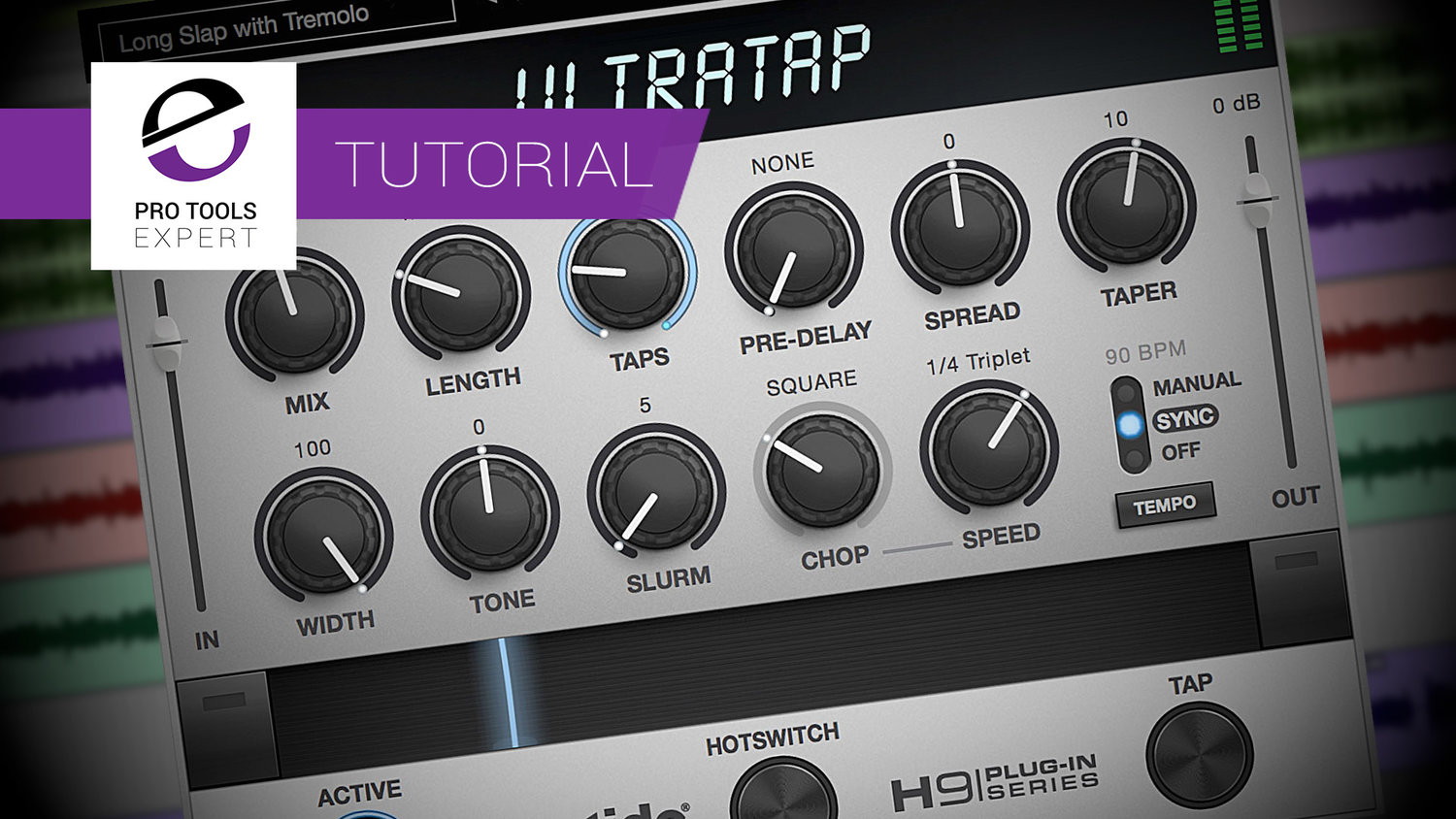 Free Tutorial - How To Use Eventide UltraTap Delay Plug-in Controls