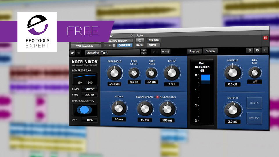 Friday Free Plug-in - Tokyo Dawn Records Kotelnikov Wideband Dynamics Processor Plug-in