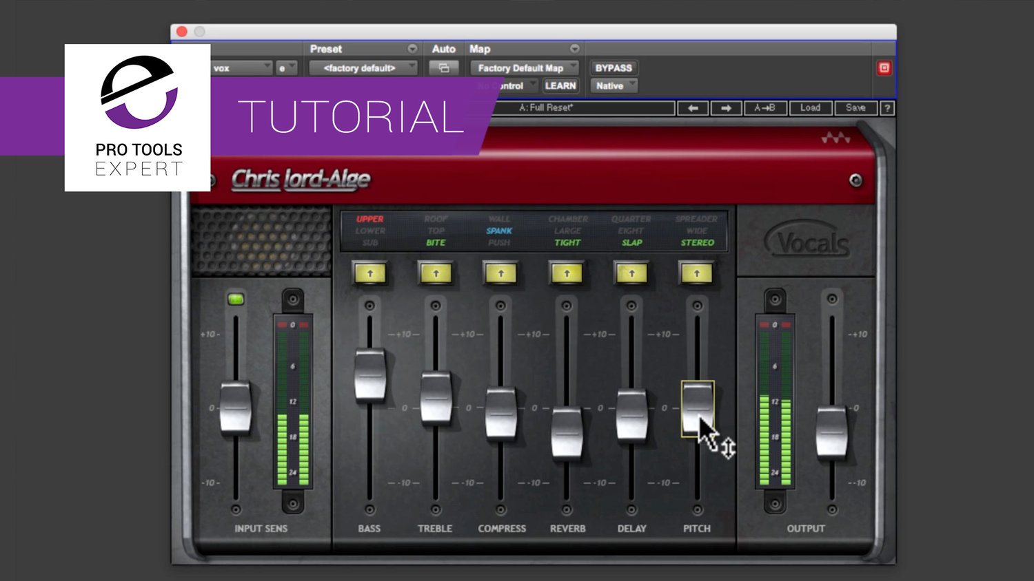 Free Tutorial - How To Use Waves CLA Vocals Plug-in | Pro Tools