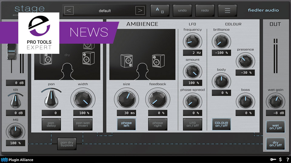 Fiedler Audio Join Plugin Alliance And Release Stage Stereo Toolkit Plug-in