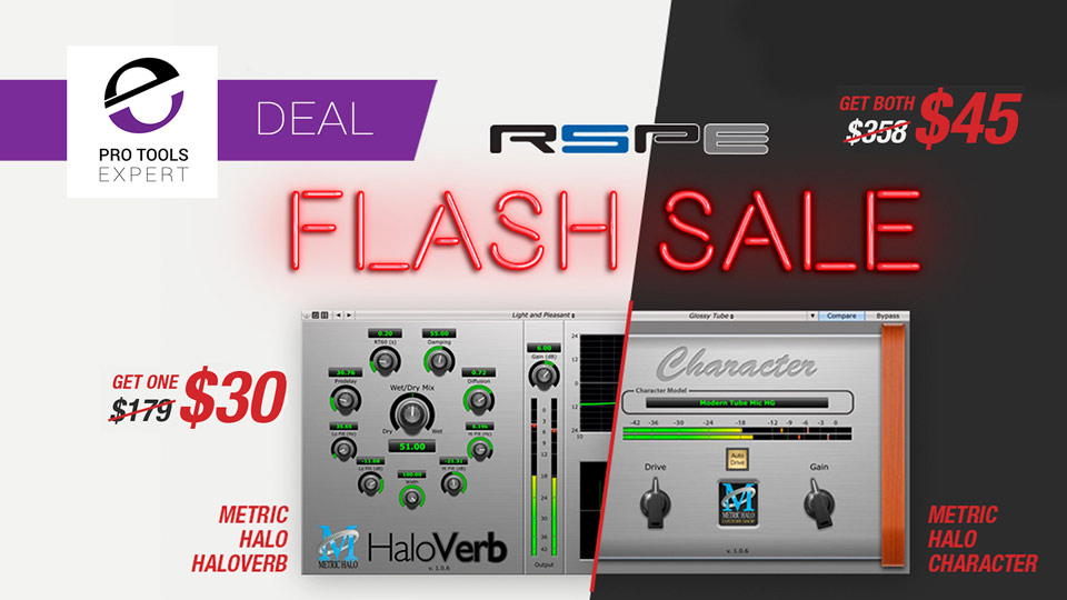 RSPE Offering Flash Sale On Metric Halo Plug-ins - Save Up To 80% Until 5th September 2017