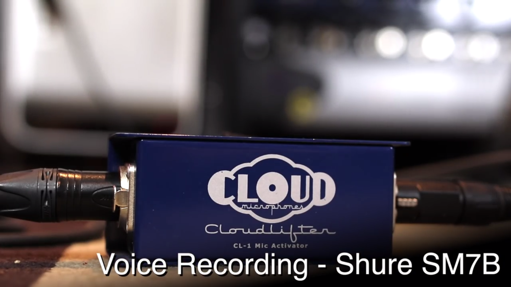 cloudlifter cl-1 mic activator voice over recording dynamic microphone shure sm7b.png