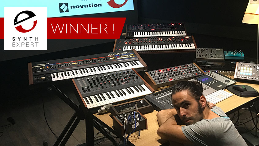 Synth Expert Announce Winner Of Novation PEAK - Hugo Leitão of Portugal