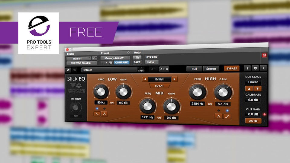 Friday Free Plug-in - Tokyo Dawn Records VOS SlickEQ Plug-in