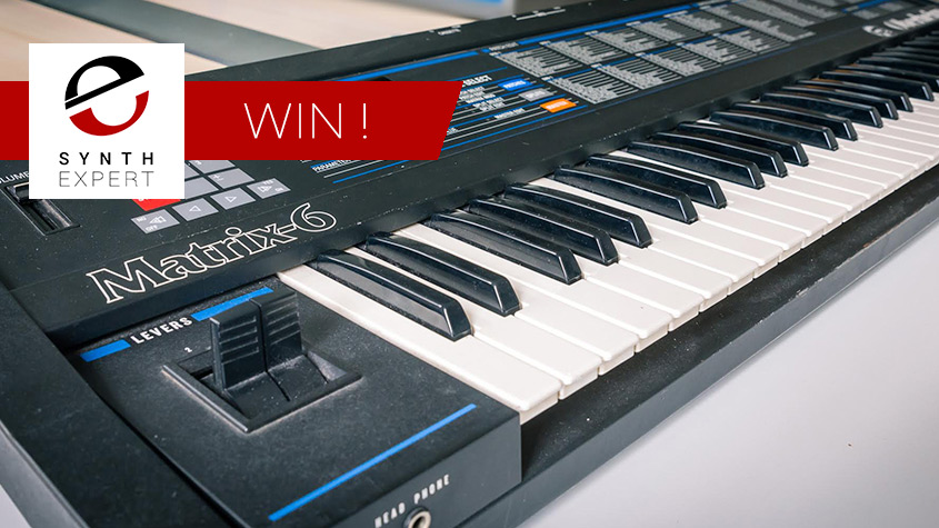 Win a Vintage Oberheim Matrix-6 Synthesizer from UVI - Free to Enter