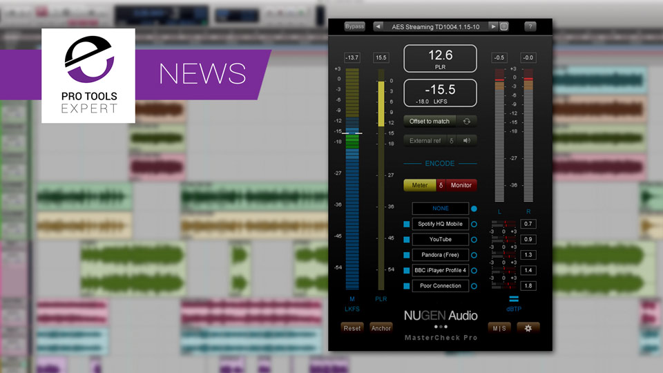 MasterCheck Pro v1.4 Released By Nugen Audio With 2 More Codecs Supported