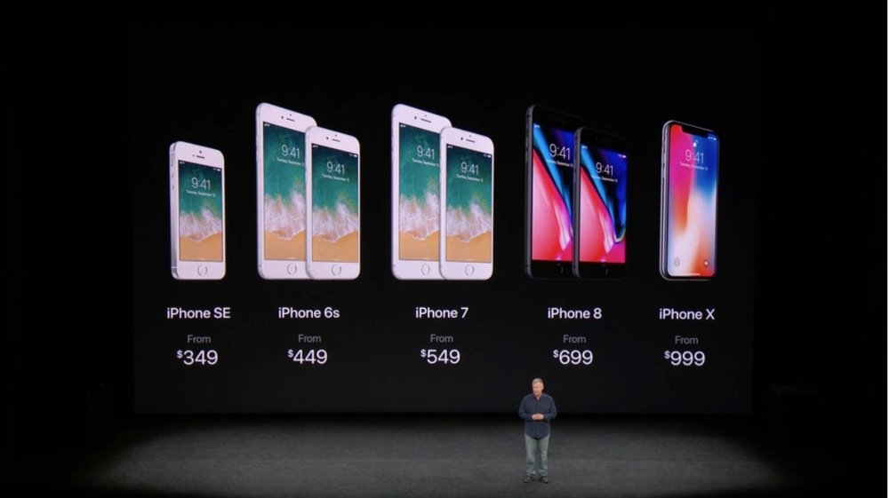 Apple iPhone X prices