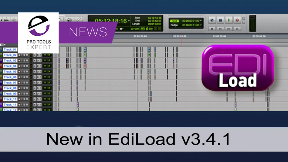 Sounds In Sync Release V3.4.1 Of EdiLoad Conforming And Re-conforming Software