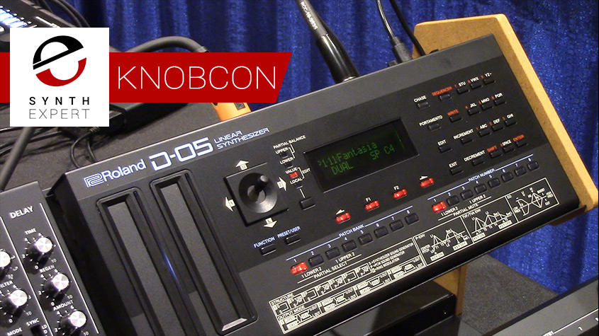Knobcon Roland D-05 synth