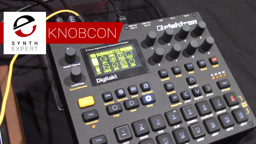 Elektron Digitakt at Knobcon 2017