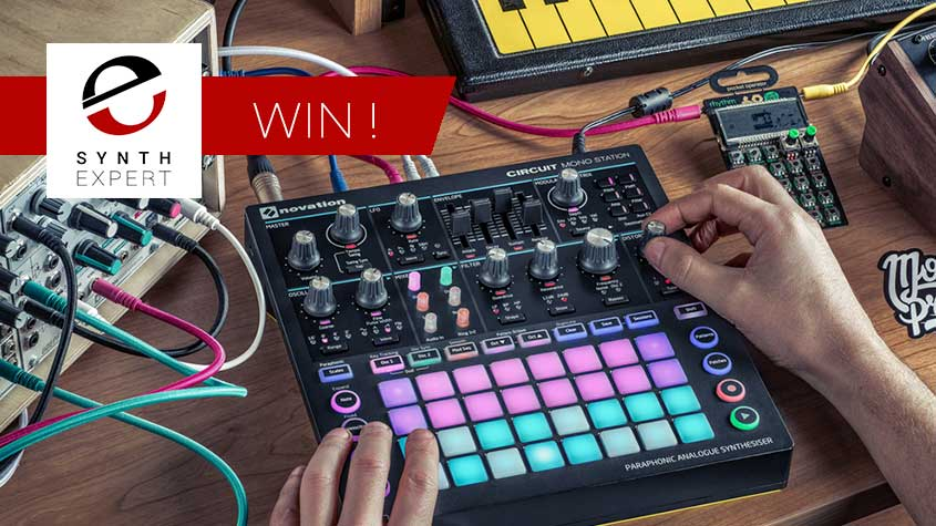 Win a Circuit Mono Station from Novation - Free To Enter