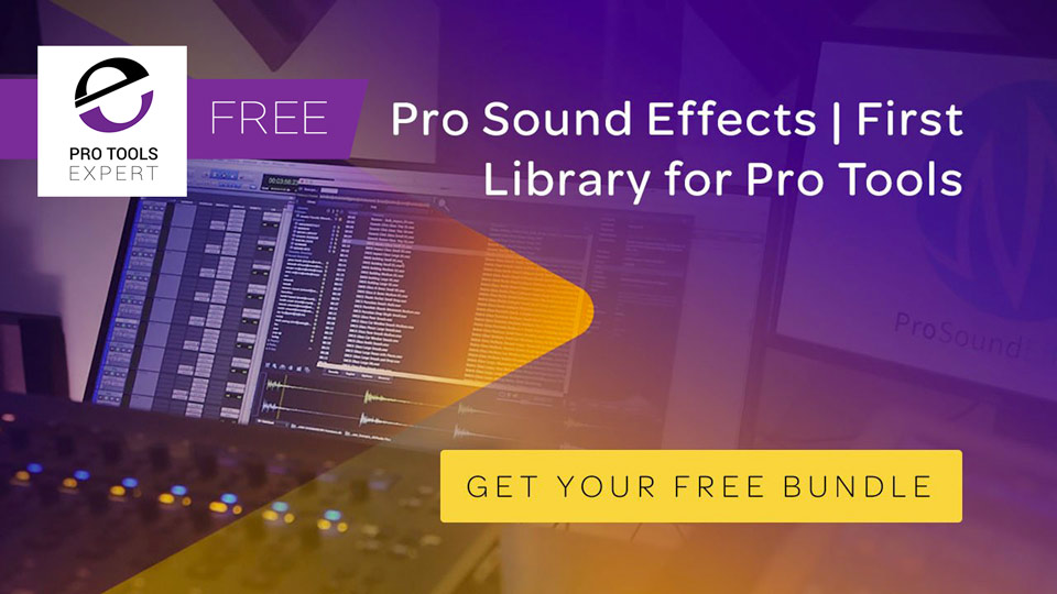 Avid Offers 350 Free Sound Effects To Pro Tools Users With Active Upgrade Plan