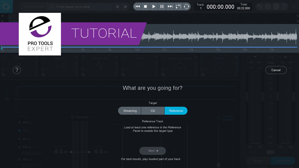 Why iZotope Created the Master Assistant in Ozone 8   Pro Tools