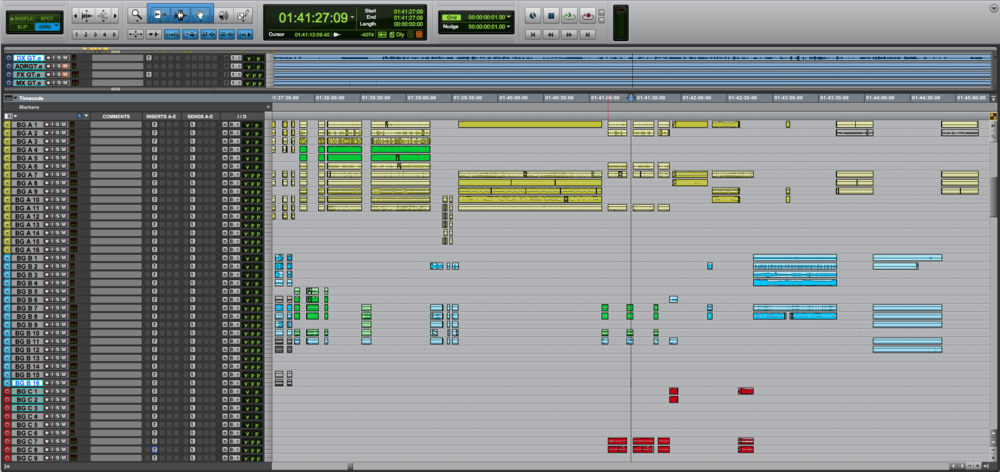Would You Like To Have A Split View In The Pro Tools Edit Window?