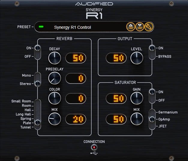 Synergy R1 Control     plug-in