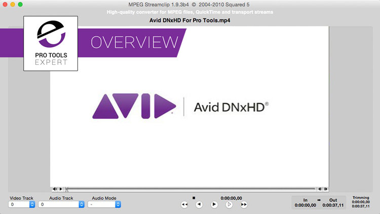 Pro Tools | What Is The Best Video File Format To Use With Pro Tools?