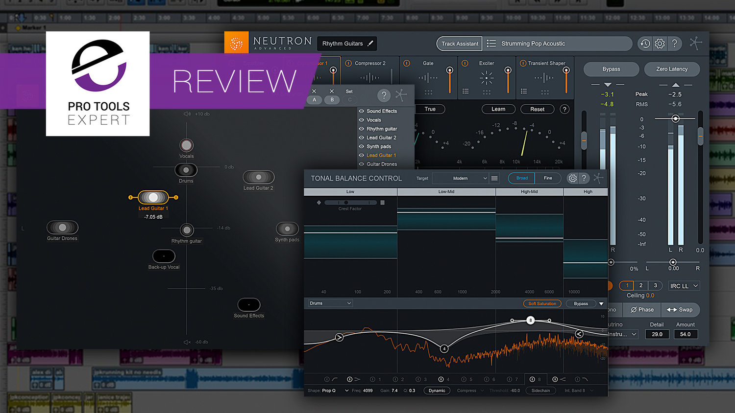Review - iZotope Neutron 2 Track Assistant, Tonal Balance