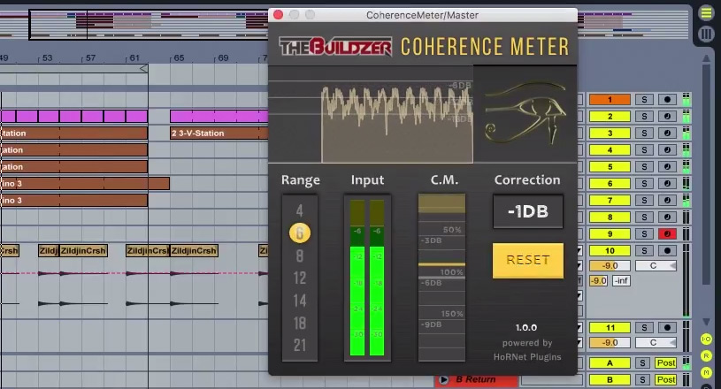 HoRNet Plug-ins Release Coherence Meter Plug-in