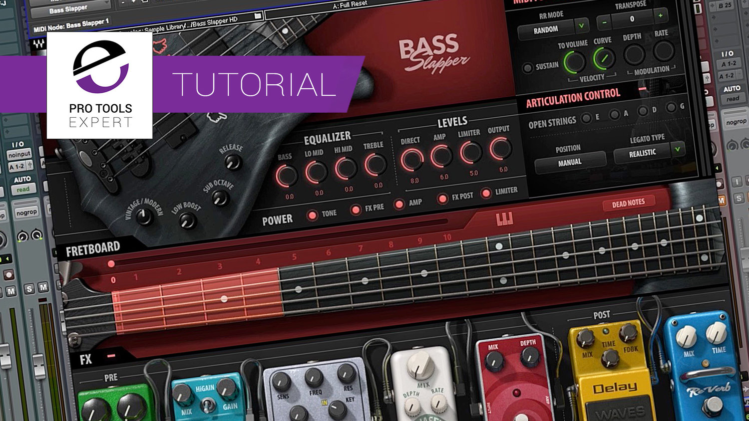 Tutorial - Using Waves Bass Slapper - Hear Bass Slapper