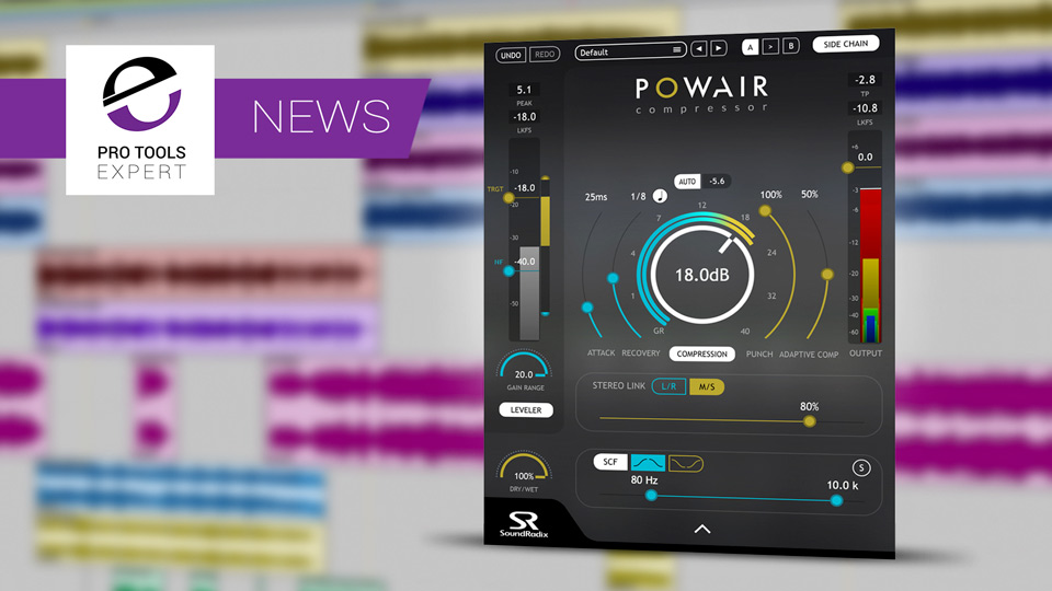 Sound Radix Release POWAIR Two Stage Leveler & Compressor Plug-in
