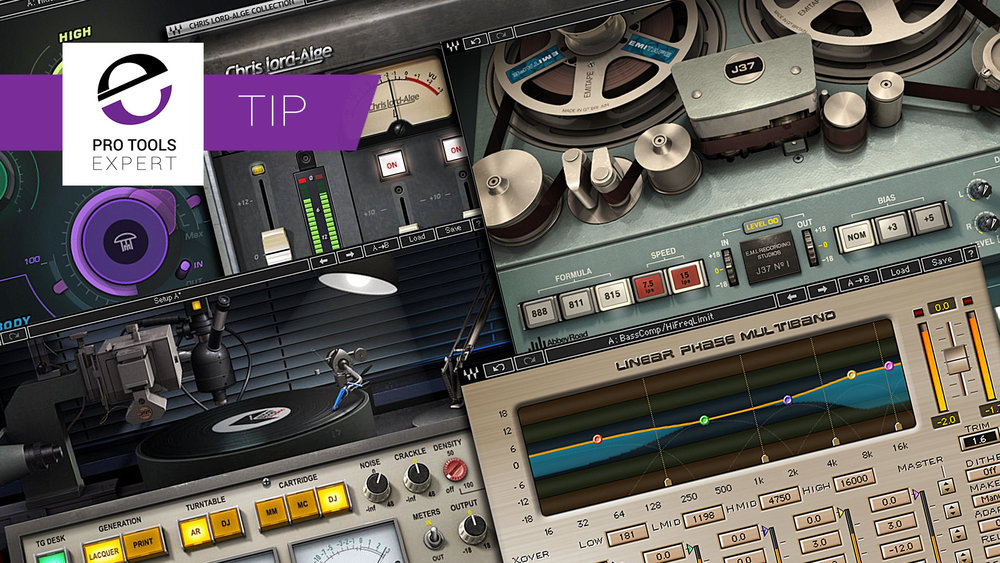 pro tools 5 essential mix bus plug ins by waves rh pro tools expert com
