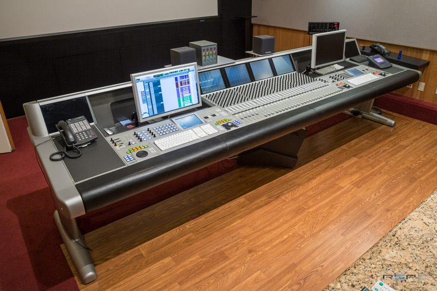 SPG Studios Stage 5 With Euphonix System 5