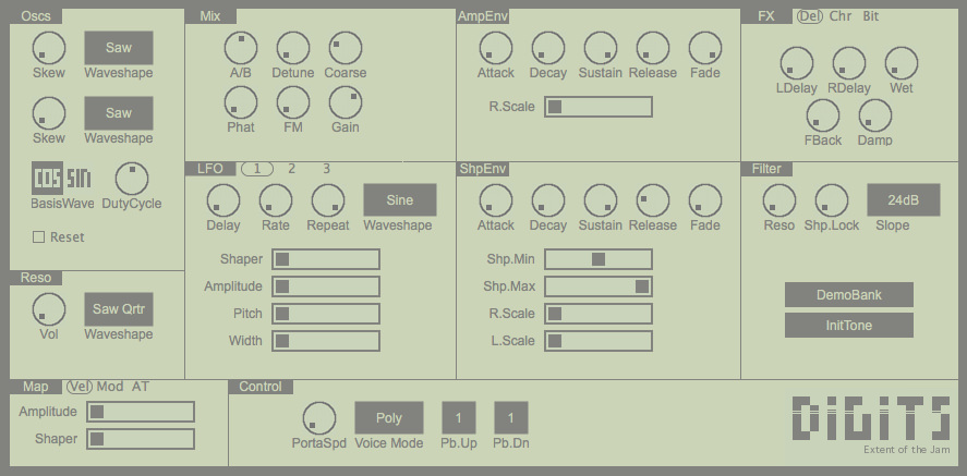 Free Software Instrument – Digits 2 0 Synth | Studio One