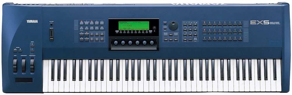 The Motif series' immediate forebear, the Yamaha EX5 multi-engine synth.