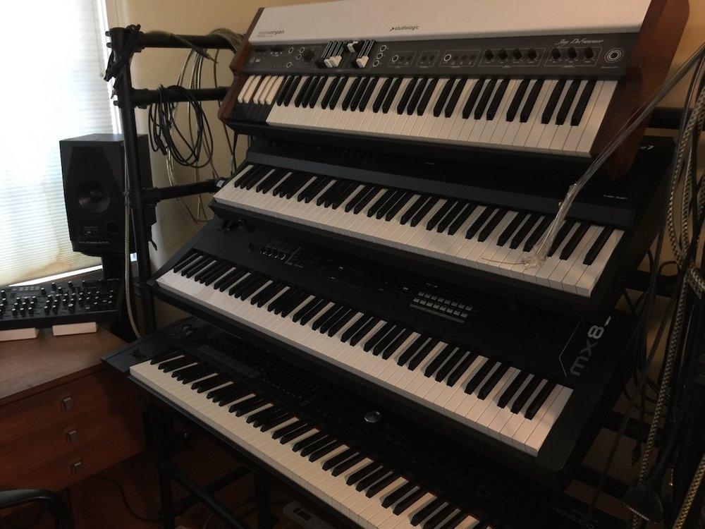 The Big Keyboard Rack