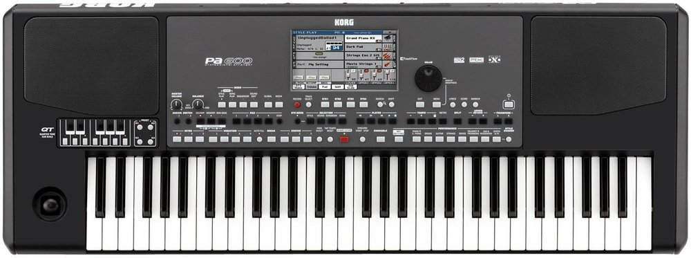 Korg Pa-600 Arranger Workstation