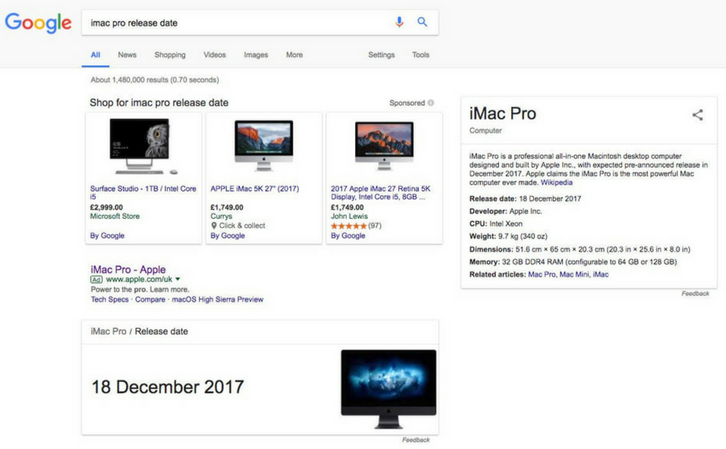 Could Apple Release The New iMac Pro On December 18th 2017?