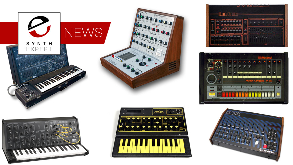 Behringer Web Site Error Leaks Possible Plan To Clone Historic Synths And Drum Machines