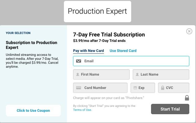 Production Expert Premium Video Tutorial content
