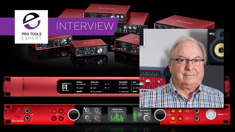 Interview From The Archives - Phil Dudderidge On Early Days Of Focusrite