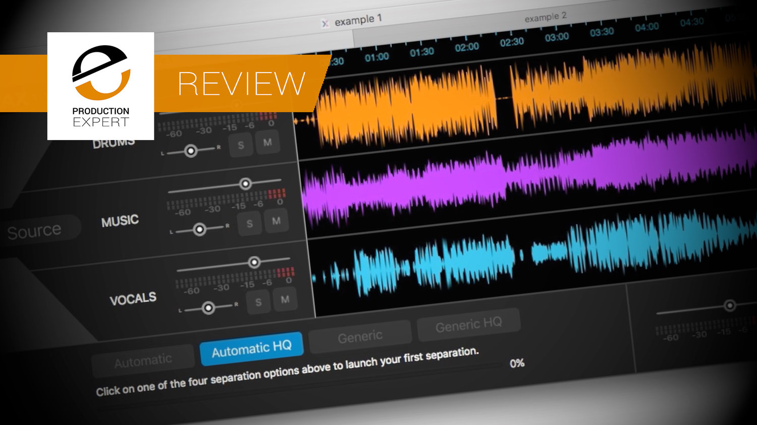 Review - Audionamix XTRAX STEMS Automatic Stem Creator Software