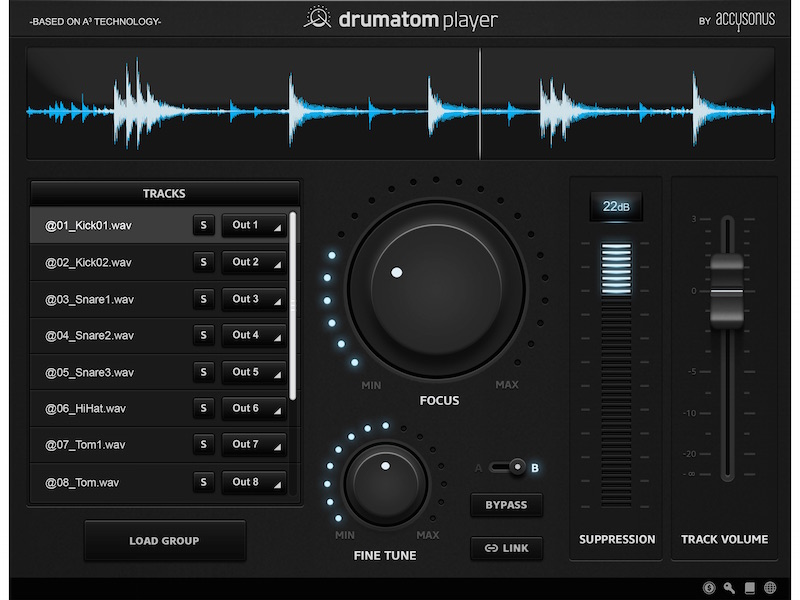 drumatom Player DAW Instrument