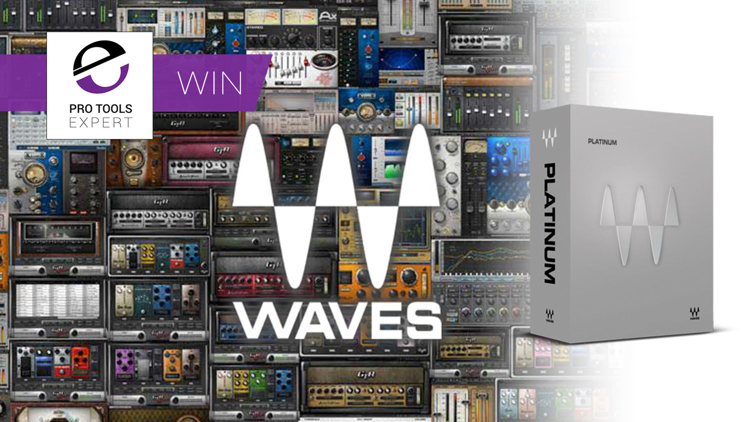 Winner - Waves Platinum Bundle Worth $1999 | Pro Tools