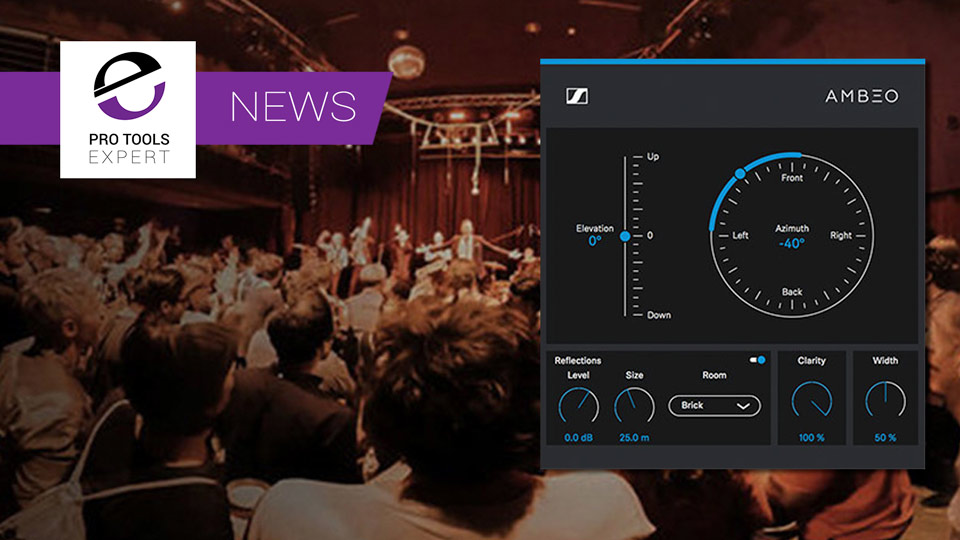 Sennheiser Release Public Beta Of Their New AMBEO Orbit Free Binaural Panner Plug-in