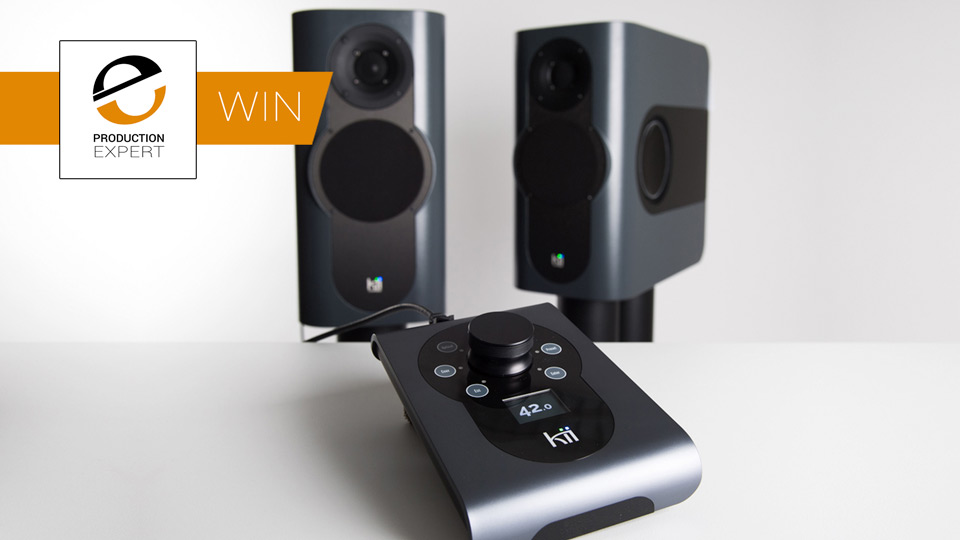 Win - A Pair Of Kii Three Studio Monitors And A Kii Control Worth $14,000
