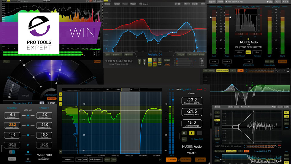 Win - Nugen Audio Post Production Pack Bundle Worth $859