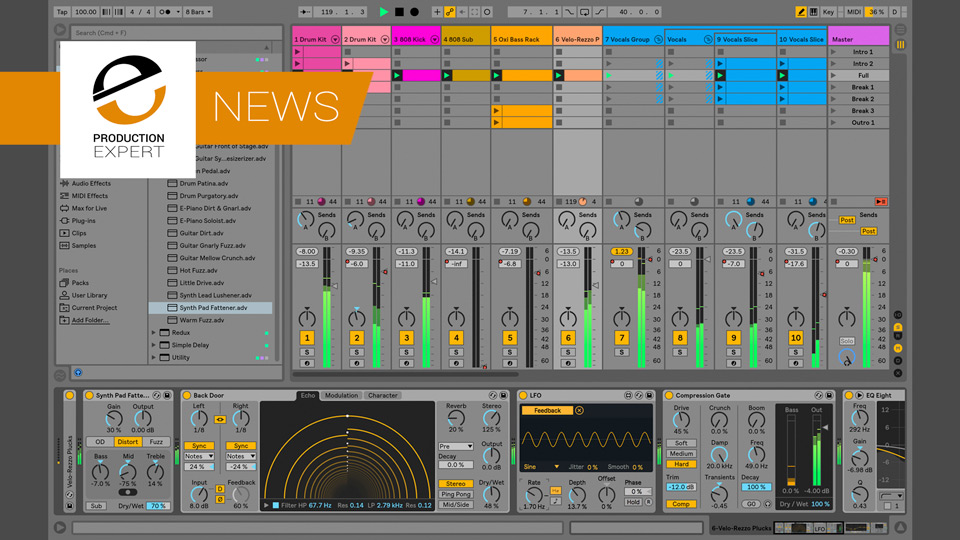 Ableton Live 10 Coming On February 6th 2018 - Check It Out