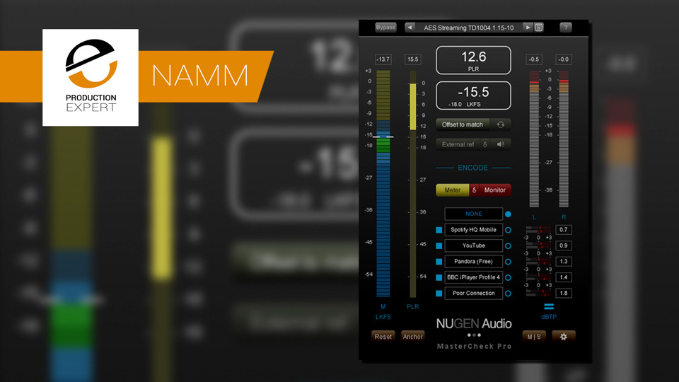 Nugen Audio Announce MasterCheck Pro V1.5 With Support For iTunes Plus & AES 373 PSR Standard