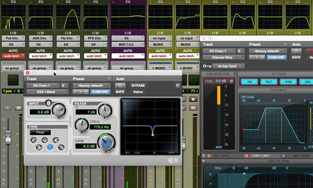 EQ Curves In Pro Tools 2018
