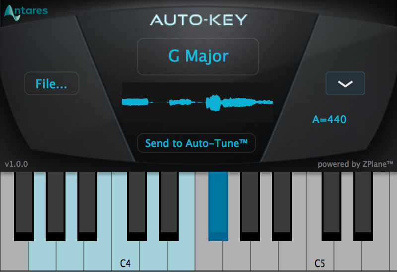 Auto-Tune Auto-Key Plug-in