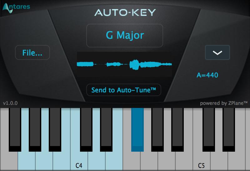 Auto-Tune Auto-Key Plug-in